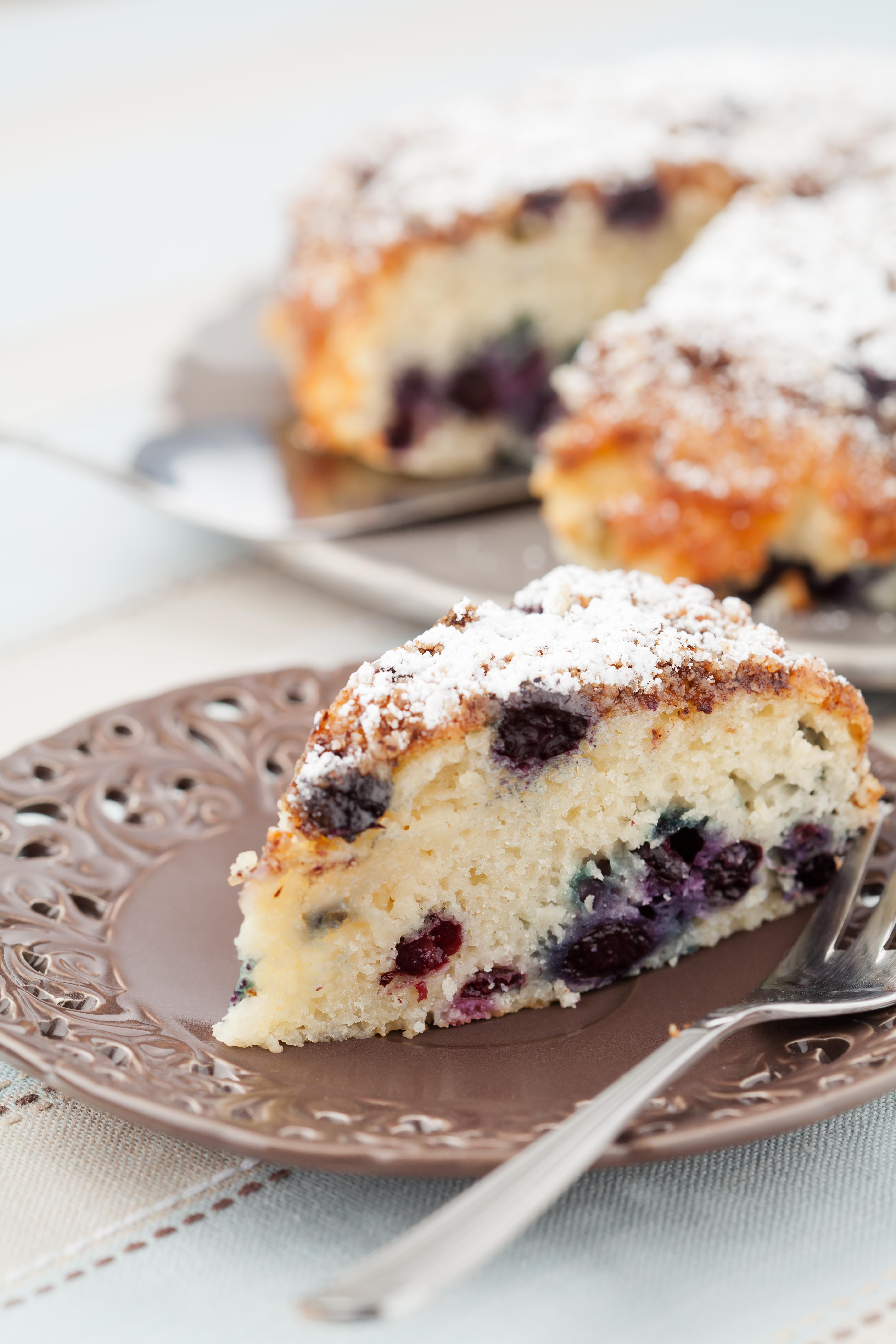 Best Ever Blueberry Coffee Cake - BigOven