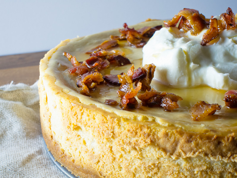 Recipes By Course Desserts Cakes Cheesecake Maple Bacon Cheesecake