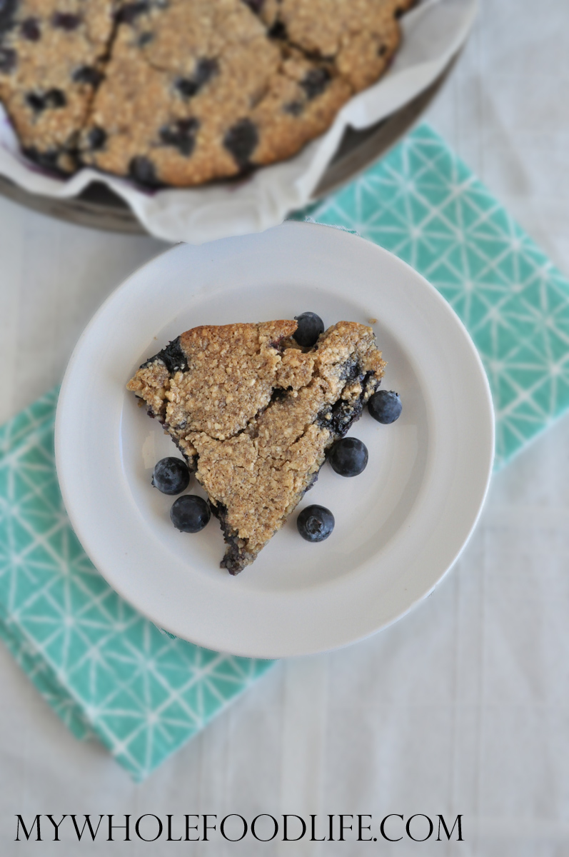 Recipes Course Breakfast Baked Goods Blueberry Almond Scones