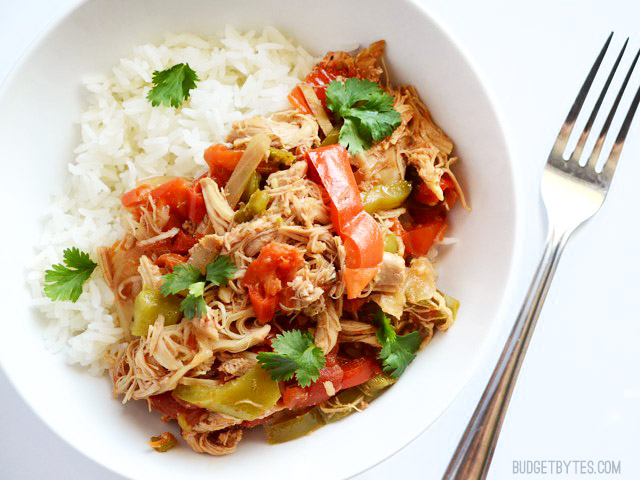 Slow Cooker Chicken Ropa Vieja - BigOven 1215927