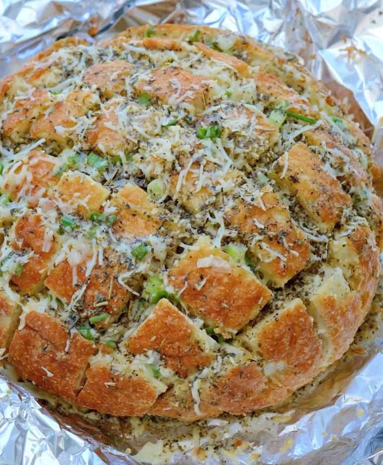 banana pull apart bread pull apart easter blossom bread cheddar ...