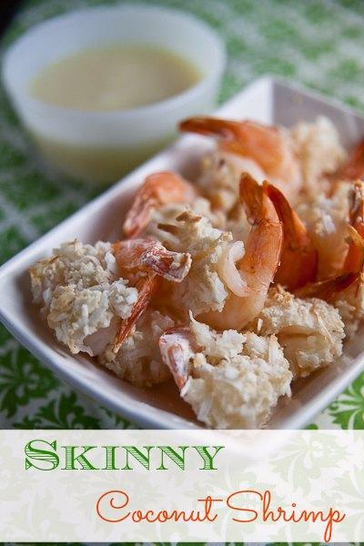 Recipes By Course Skinny Coconut Shrimp {with Pina Colada Sauce!}