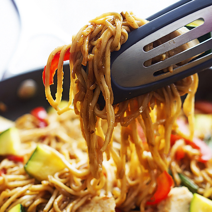 how to make chicken lo mein