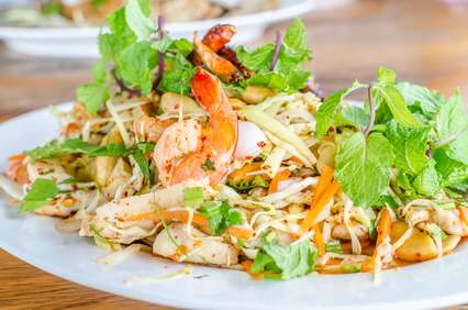 Asian Chicken Salad Recipe Giada De Laurentiis Food