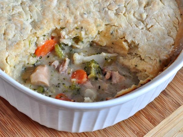 Chicken Pot Pie with Buttermilk Biscuit Crust - BigOven 1242312