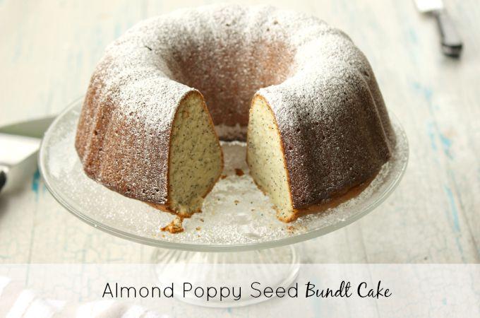 Recipes Course Desserts Cakes Almond Poppy Seed Bundt Cake Recipe