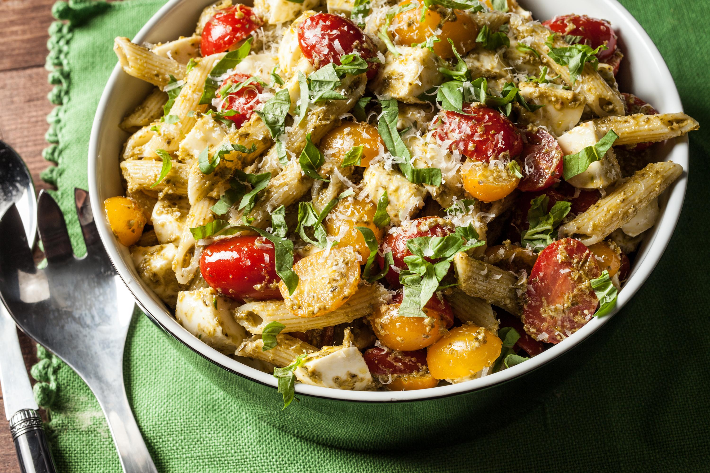 Classic Pesto Pasta Salad - BigOven