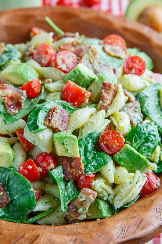 Avocado BLT Pasta Salad - BigOven