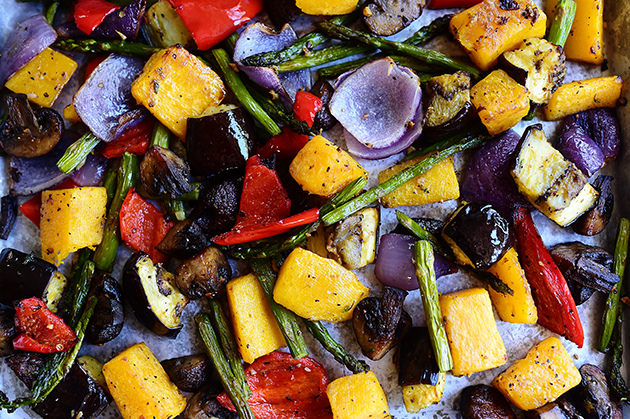 Beautiful roasted vegetables bigoven 1287375 for Beautiful vegetables