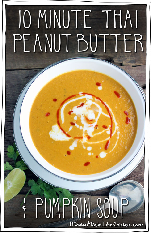 ... and Chili Vegetarian 10 Minute Thai Peanut Butter and Pumpkin Soup