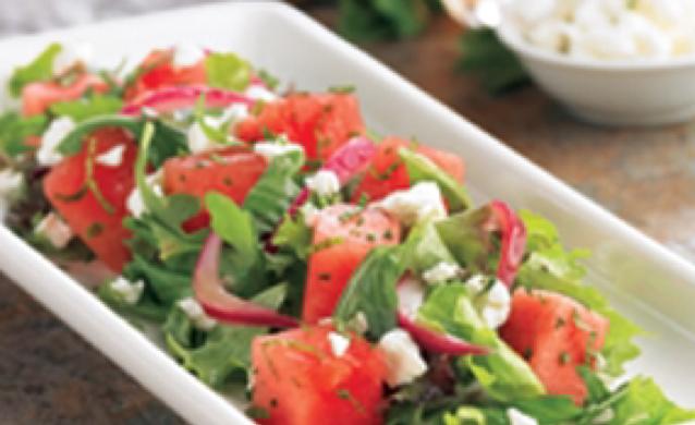 BJs Watermelon Feta Salad - BigOven