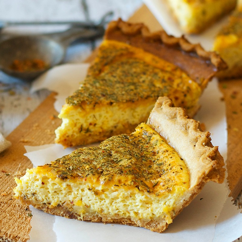 quiche crustless quiche tofu quiche quiche bites lentil quiche the ...