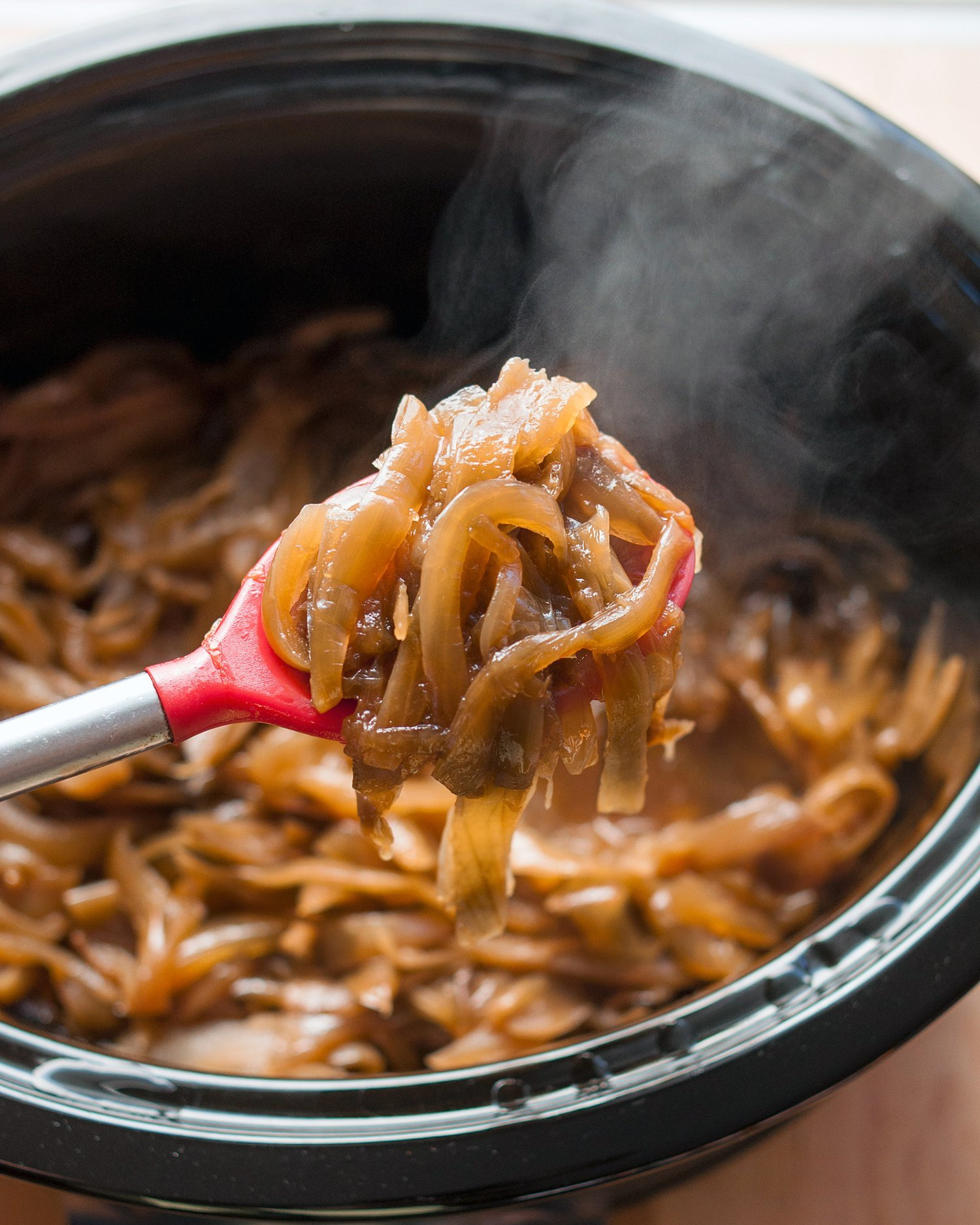 Recipes Course How To Caramelize Onions in the Slow Cooker