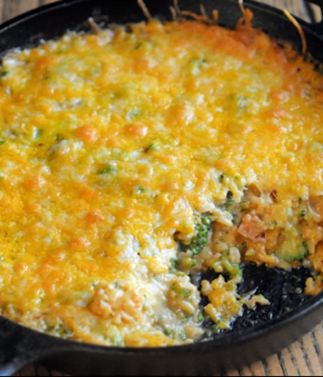 Cheesy Broccoli & Rice - BigOven