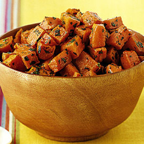 Recipes Course Side Dish Vegetables Lime Cilantro Sweet Potatoes