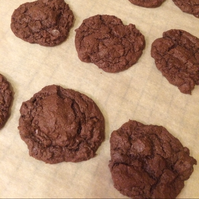 Bar Cookies From A Chocolate Cake Mix