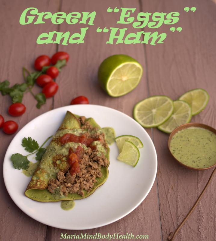 Green Eggs And Ham Recipe — Dishmaps