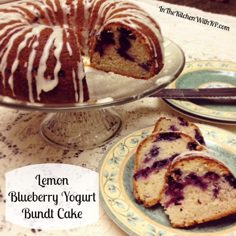 Lemon Blueberry Yogurt Bundt Cake #BundtAMonth - BigOven