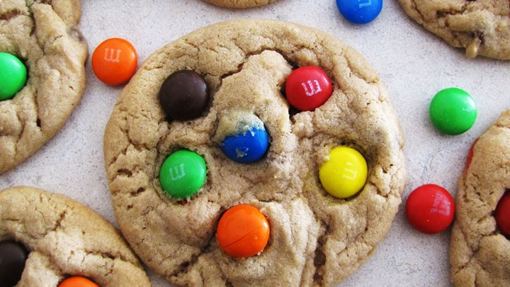 Recipes By Course Robbi's M&M Cookies