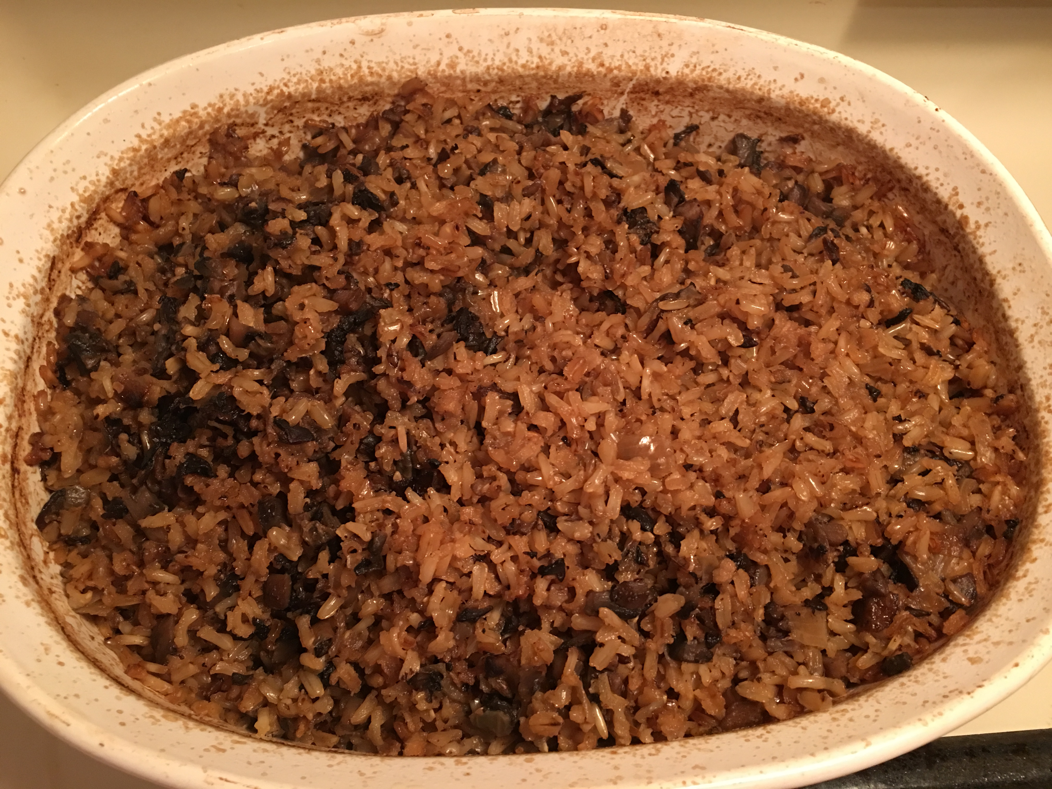 how to cook brown rice in the oven