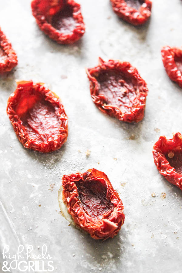 how to make sun dried tomatoes outside