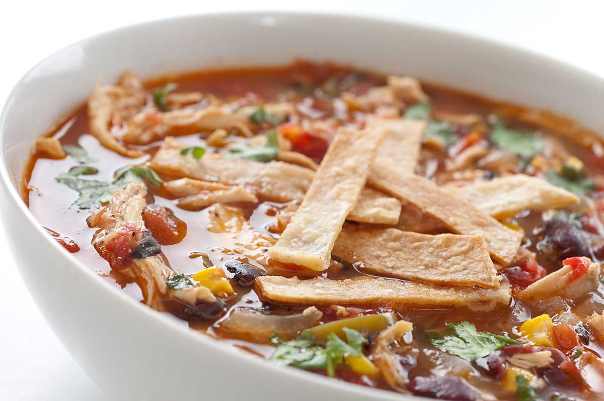 ... and Chili Soups and Stews - Other Slow Cooker Chicken Tortilla Soup