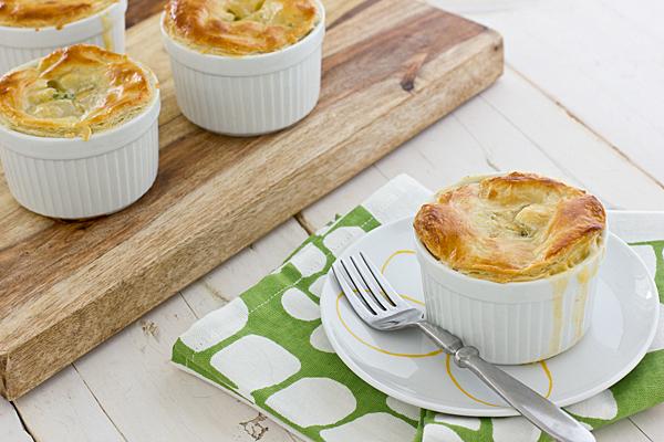 Oh-So-Easy Broccoli Cheddar Pot Pies - BigOven