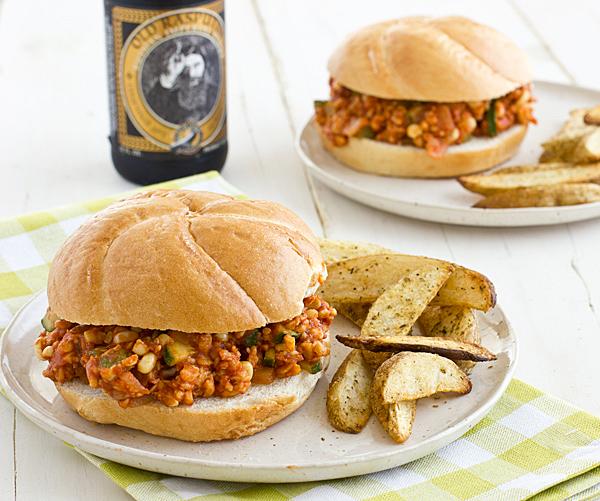 ... Course Main Dish Sandwiches and Wraps Veggie & Tempeh Sloppy Joes