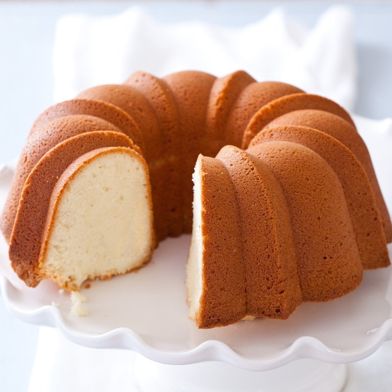 Homemade Butter Cake From Scratch: 7up Pound Cake