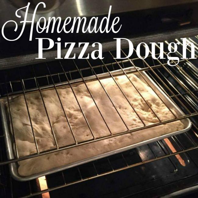 how to make easy homemade pizza dough recipe
