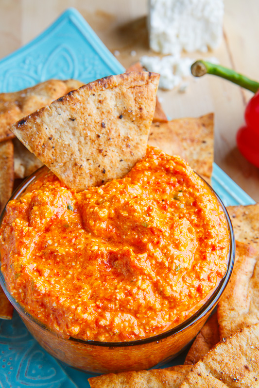 ... and Spreads Htipiti (Greek Roasted Red Pepper and Feta Cheese Dip