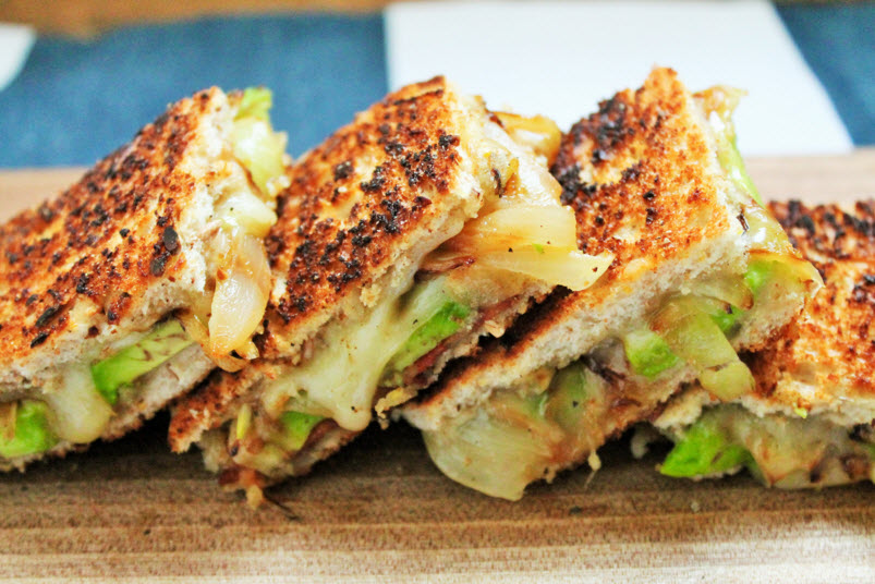 ... Dish Sandwiches and Wraps Sandwich - Grilled Two-Cheese Avocado Sammie