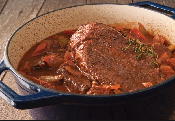 how to cook a sirloin roast in a dutch oven