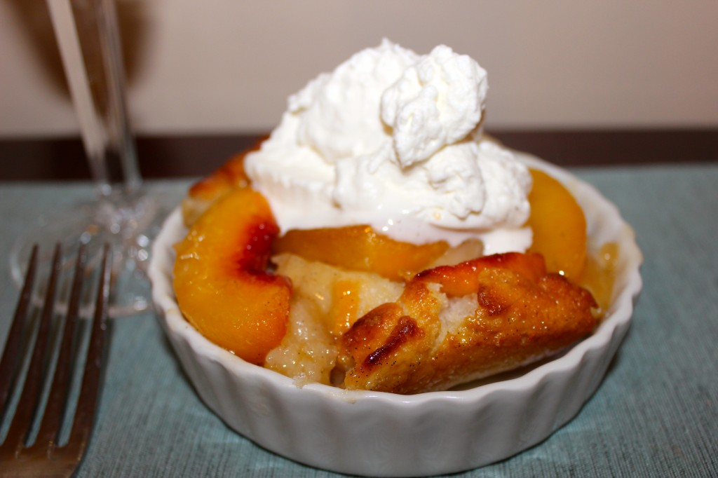 Peach Buckle with Prosecco - BigOven