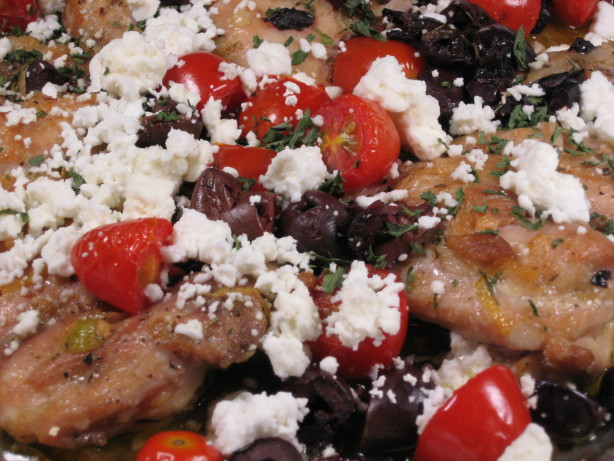 Recipes Course Greek Style Chicken Thighs
