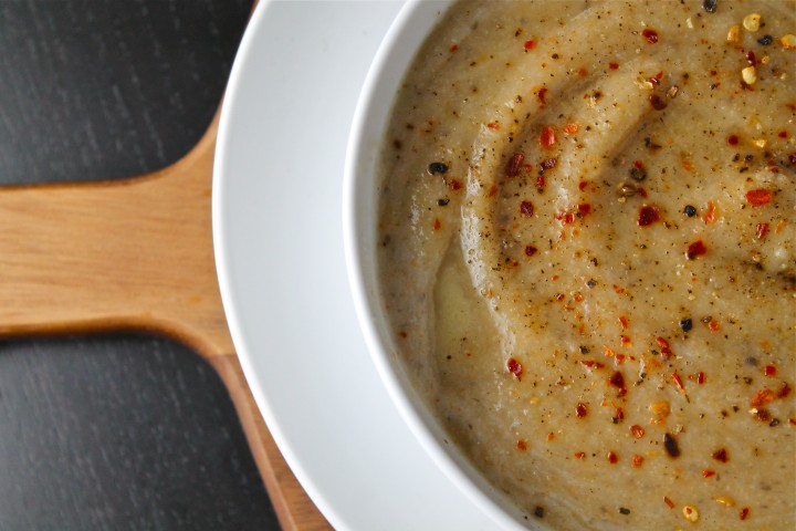 Recipes By Course Creamy Cauliflower and Mushroom Soup
