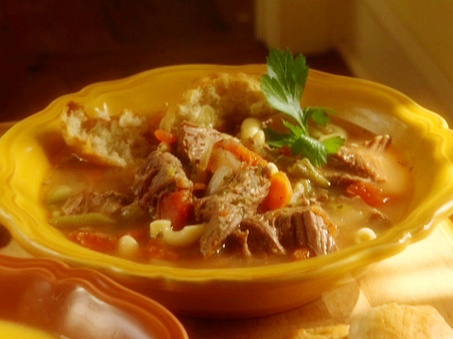 ... Chili Soups and Stews - Other The Lady and Sons Beef Vegetable Soup
