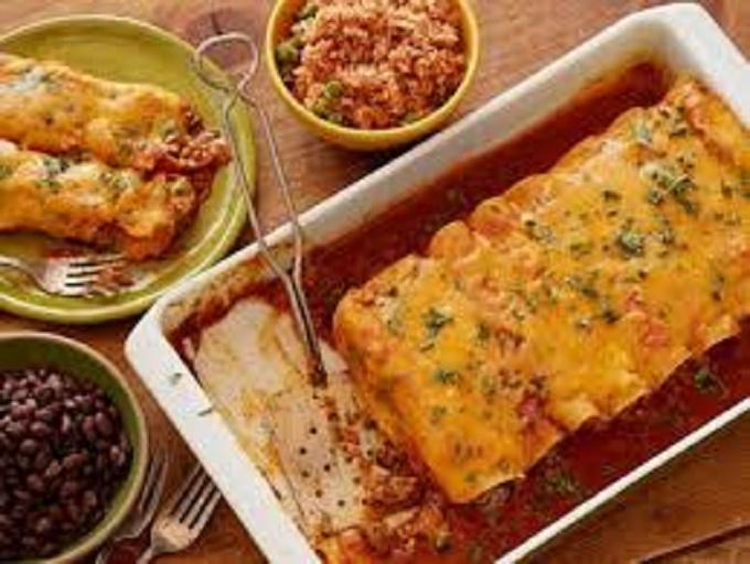 ... Main Dish Tacos, Burritos and Enchiladas Simple Perfect Enchiladas