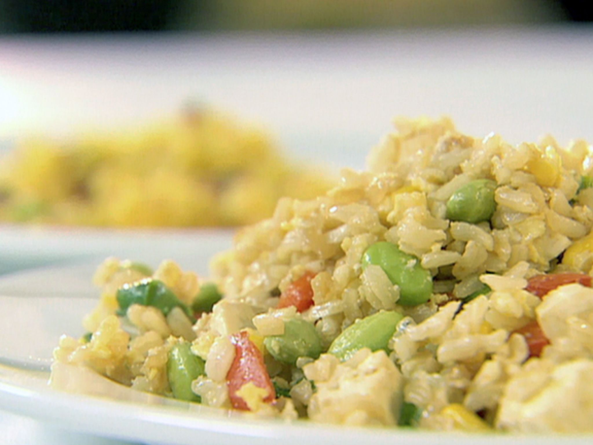 ... Dish Main Dish - Other Fried Rice with Scallions, Edamame and Tofu
