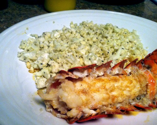 Main - Baked Lobster Tails
