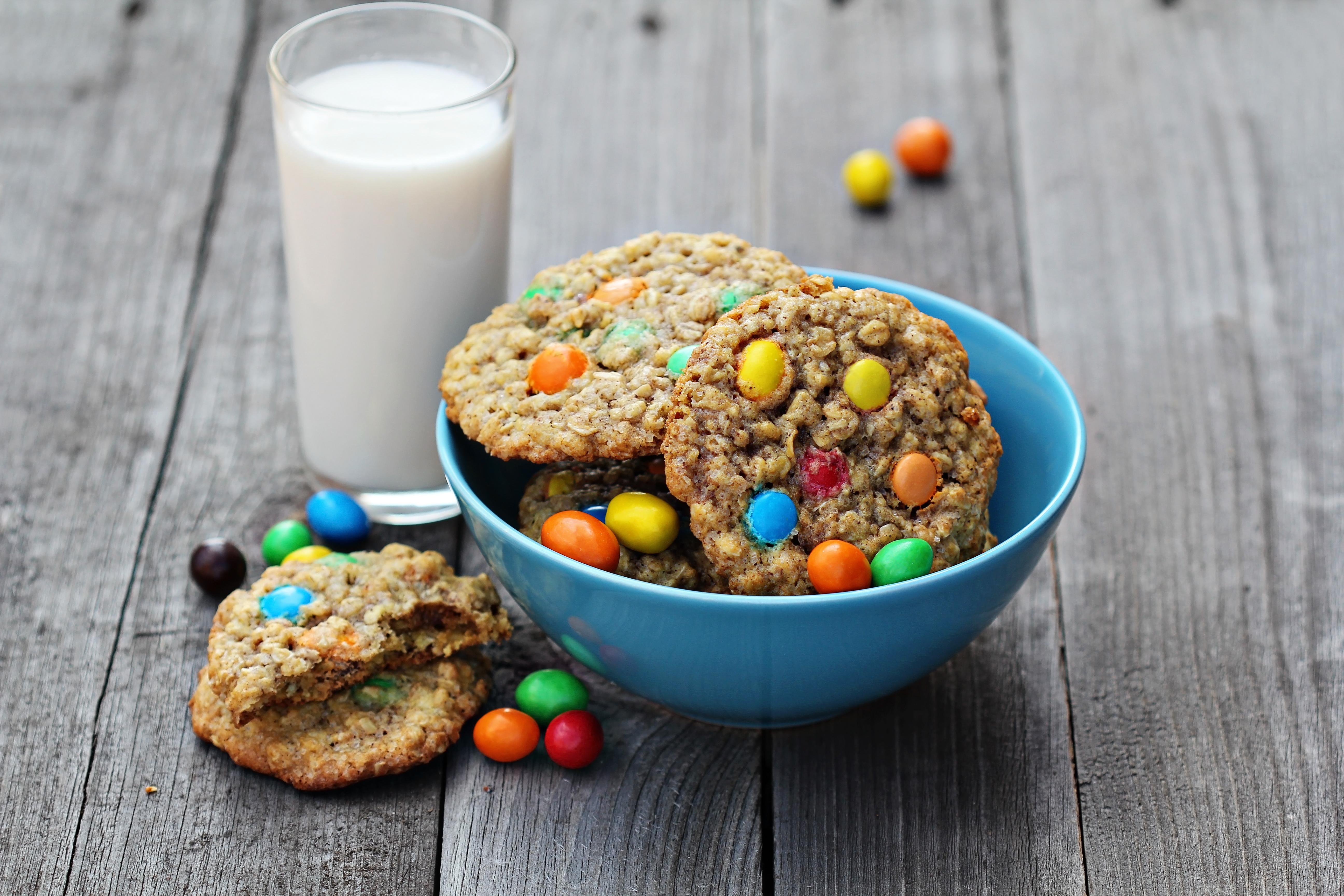 Monster Cookies (made w/sunbutter)